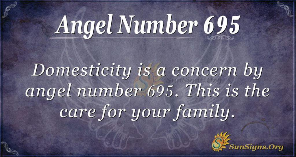 Angel Number 695