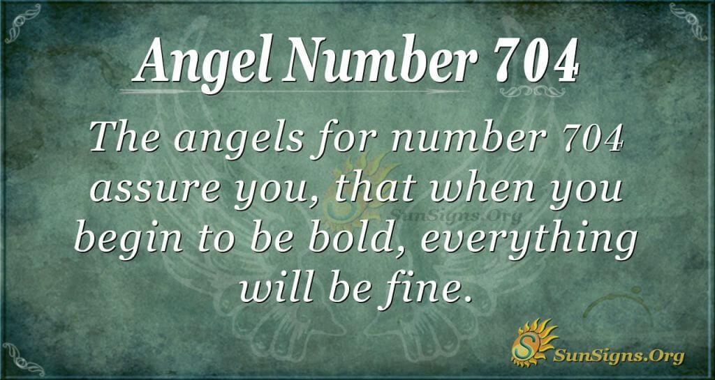 Angel Number 704
