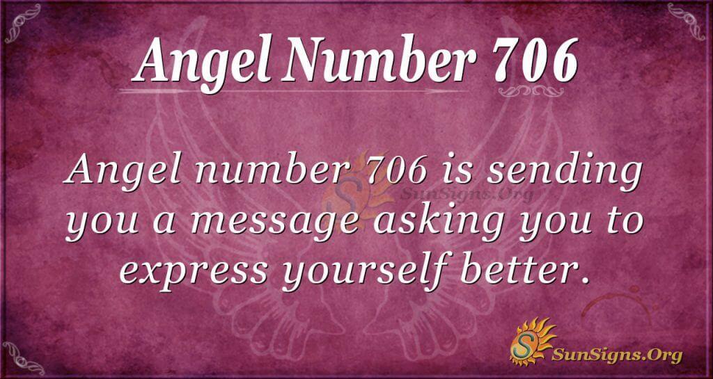 Angel Number 706