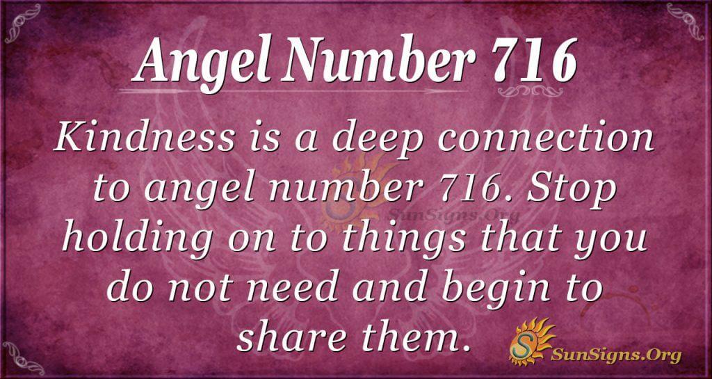 Angel Number 716