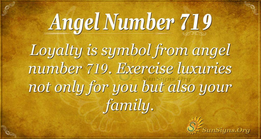 Angel Number 719