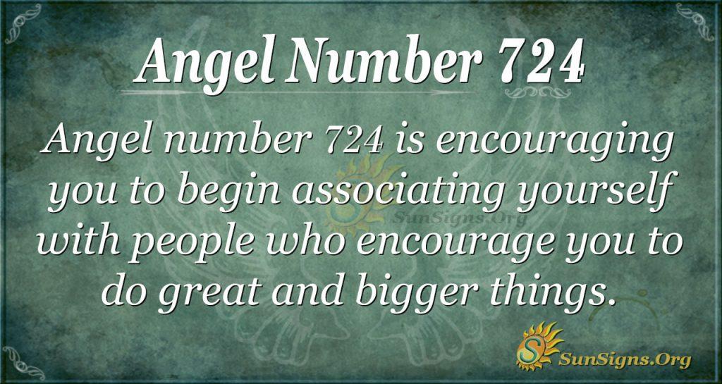 Angel Number 724