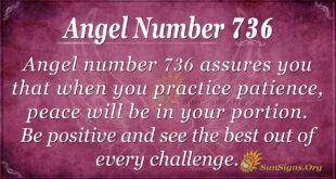 angel number 736
