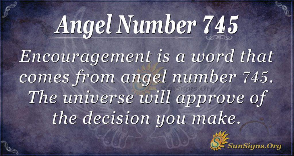 Angel Number 745