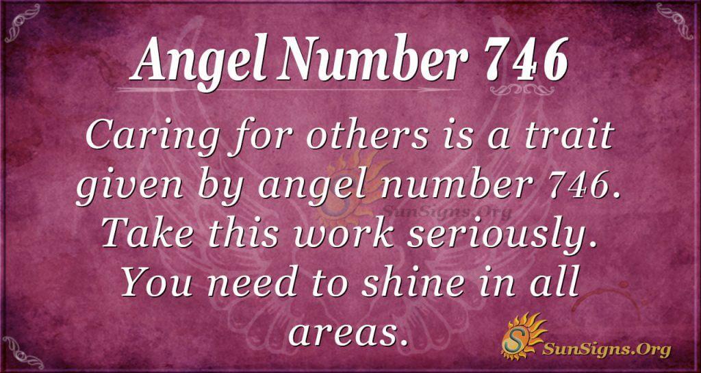 Angel Number 746