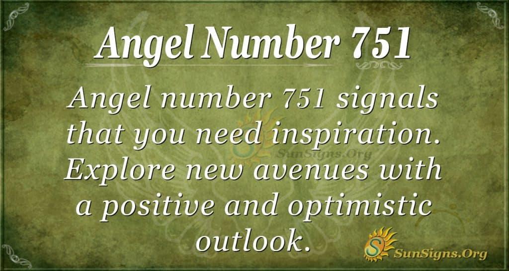Angel Number 751