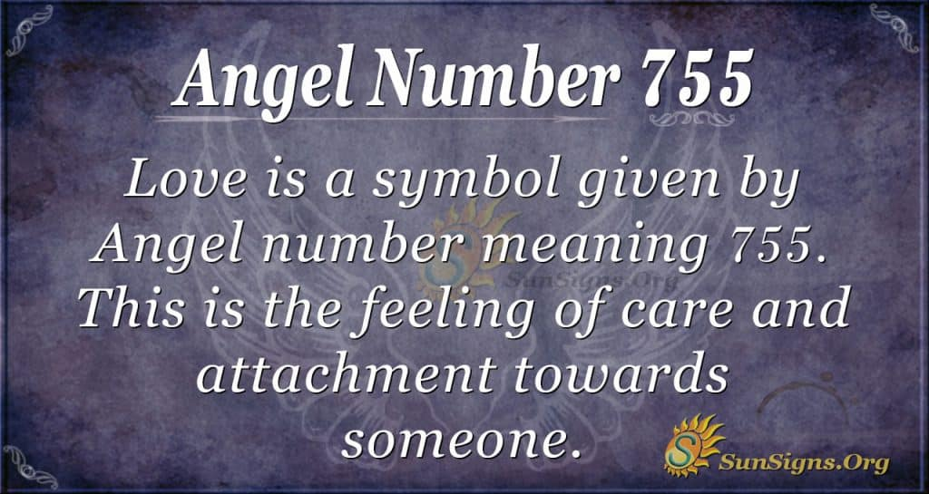 Angel Number 755
