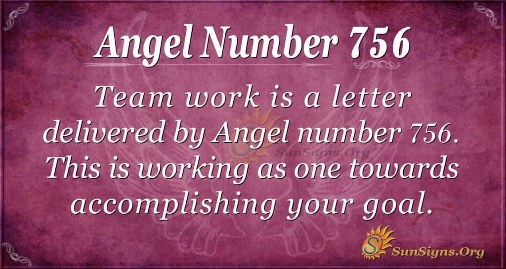 Angel Number 756