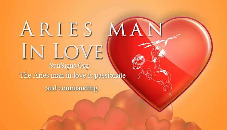 Aries man falling in love signs