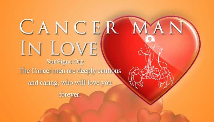 Dating a cancer man horoscope personality