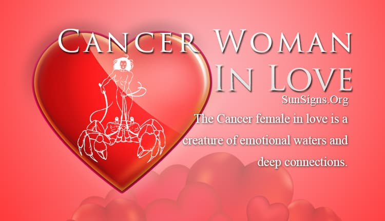 cancer woman in love