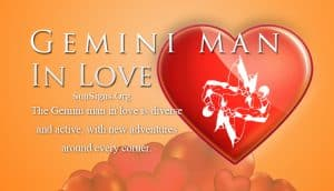 gemini man in love