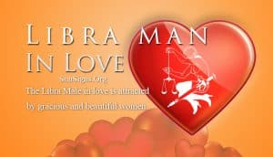 libra man in love
