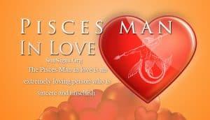 pisces man in love