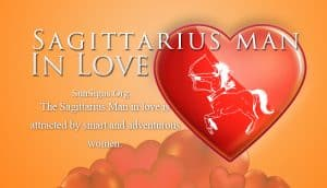 sagittarius man in love