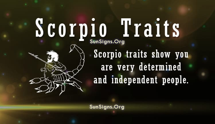 Scorpio man dating characteristics of a leader