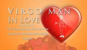 virgo man in love