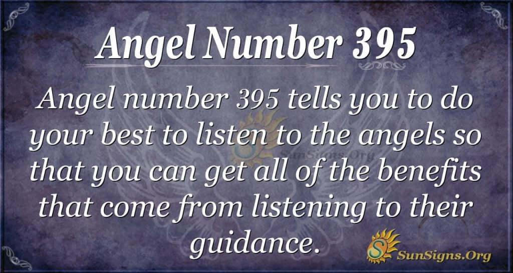 Angel Number 395