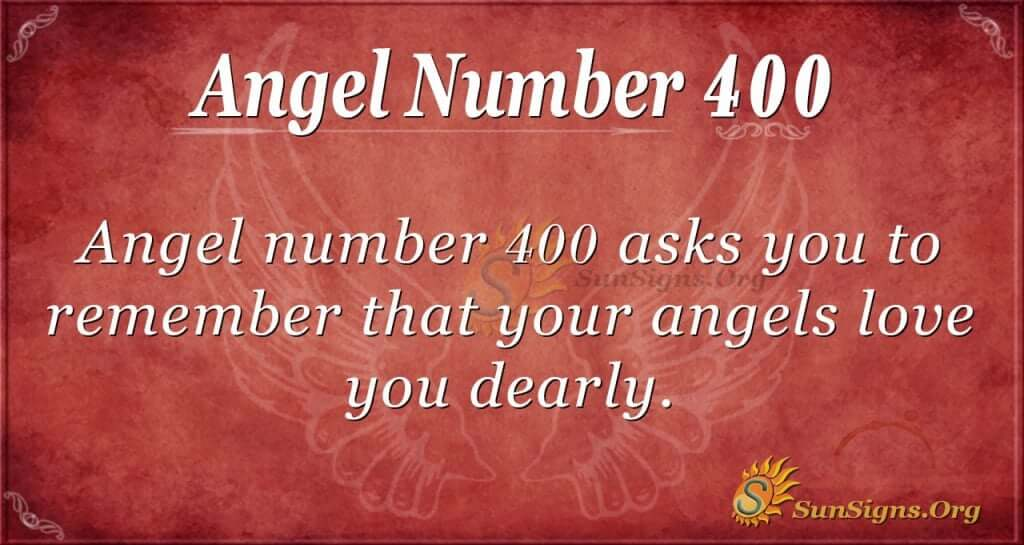 Angel Number 400
