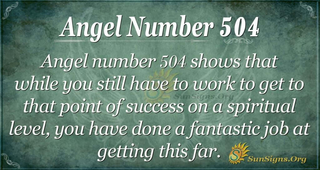 Angel Number 504