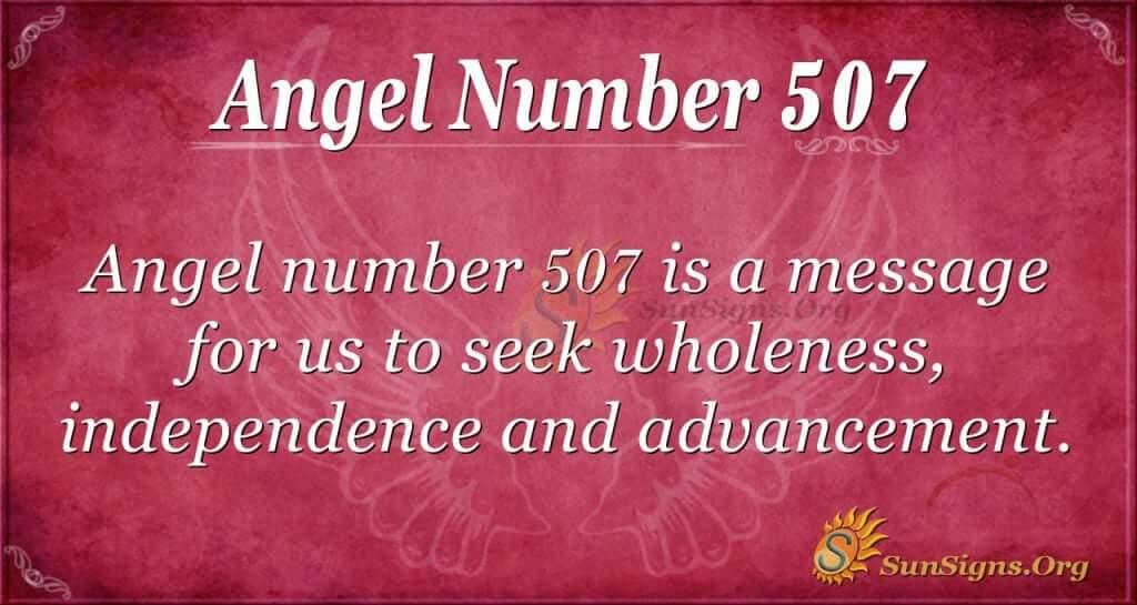 Angel Number 507