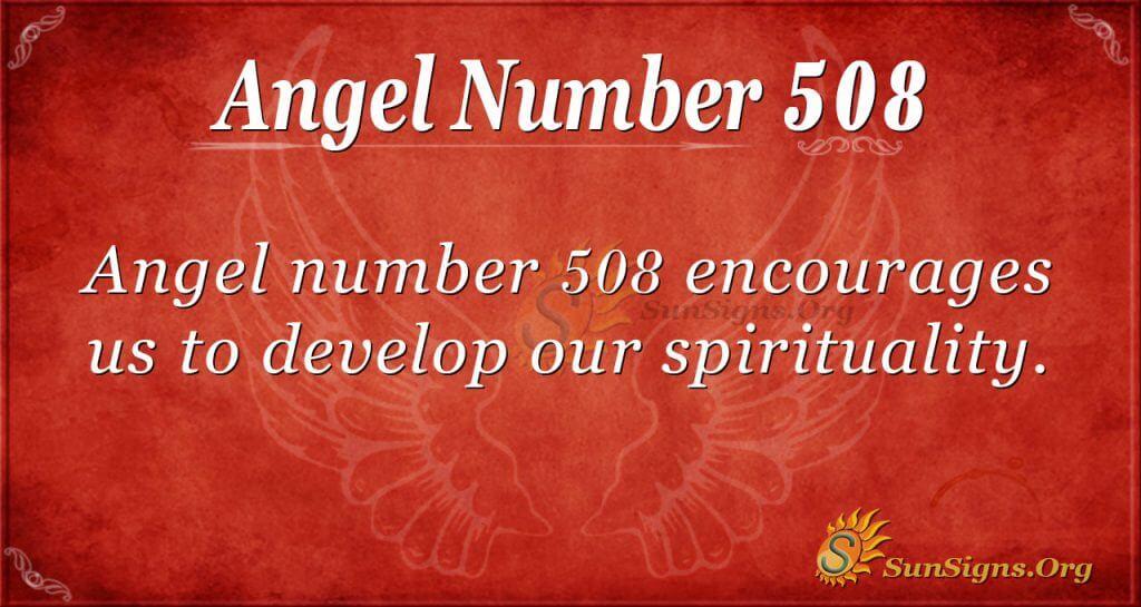 Angel Number 508