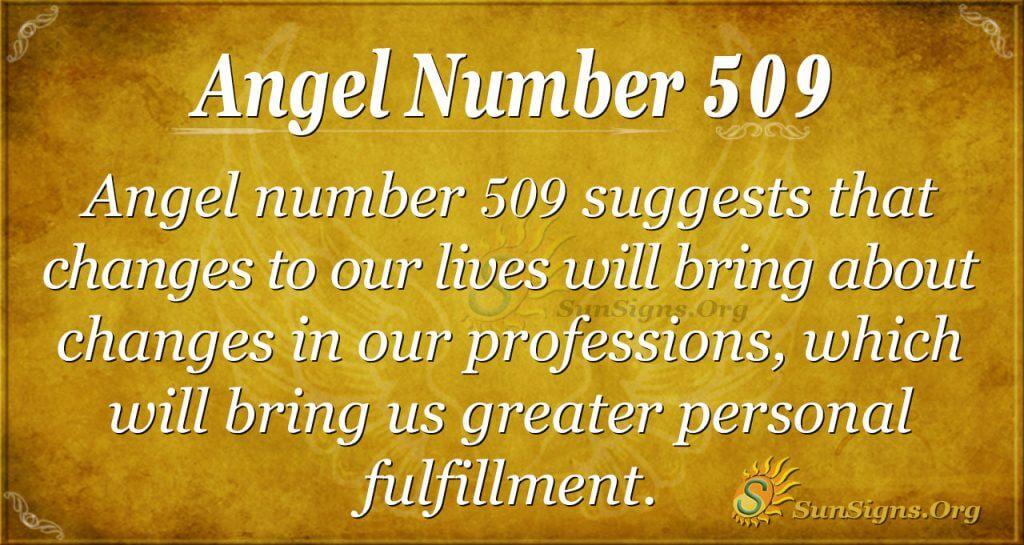 Angel Number 509