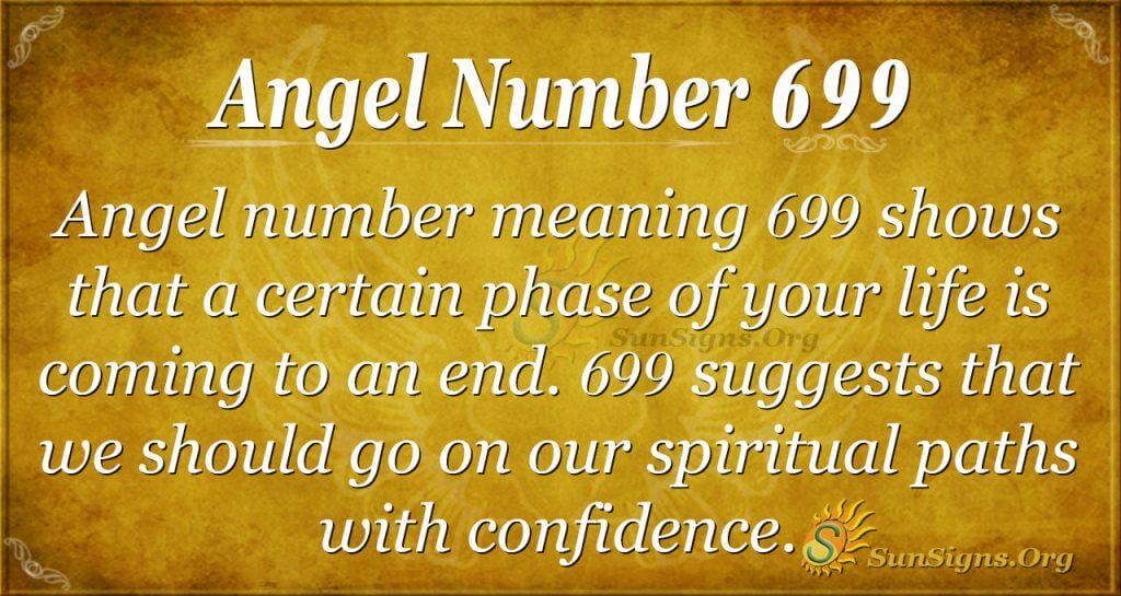 Angel Number 699