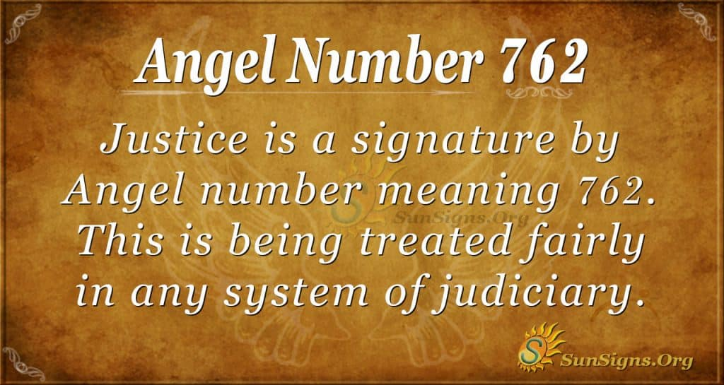 Angel Number 762