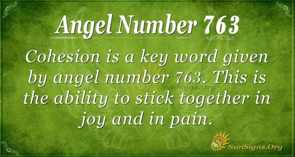 Angel Number 763