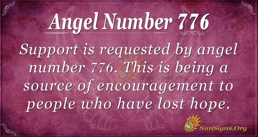 Angel Number 776