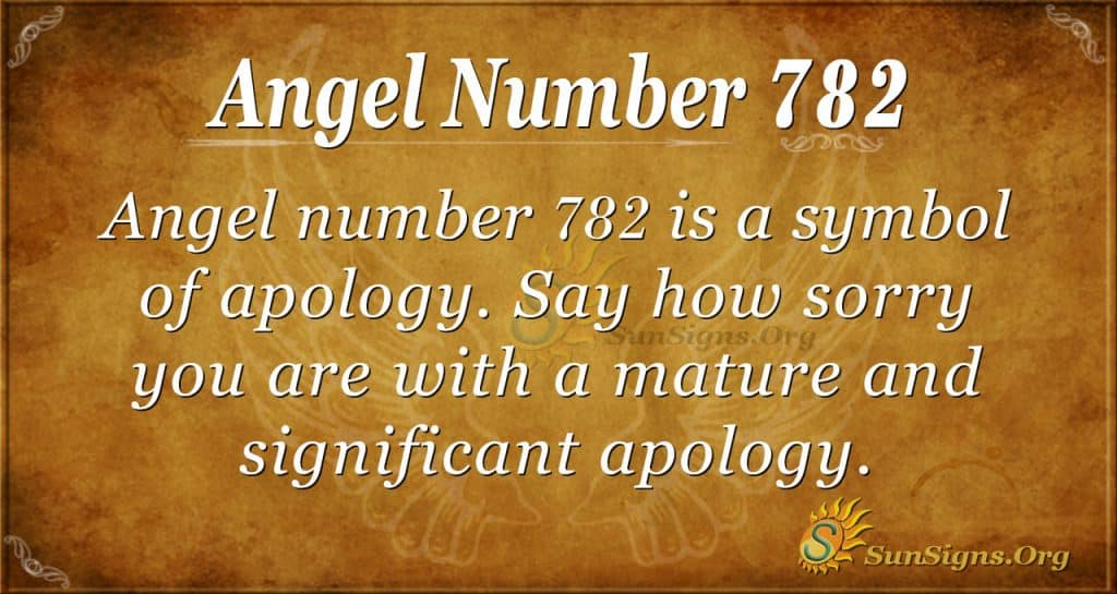 Angel Number 782