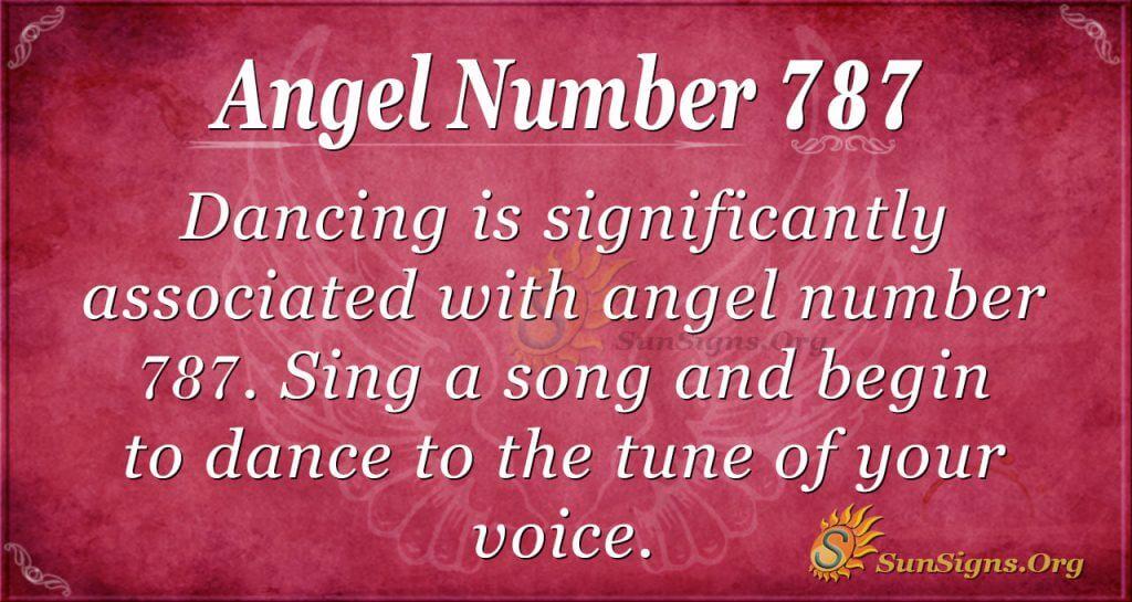Angel Number 787