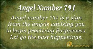 Angel Number 791