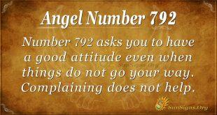 Angel Number 792