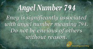 Angel Number 794