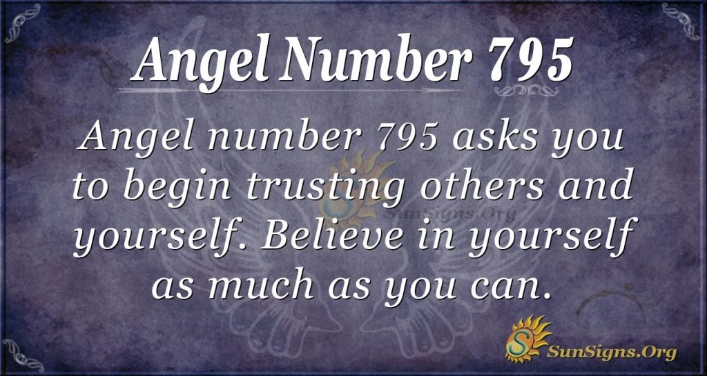 Angel Number 795