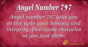 Angel Number 797