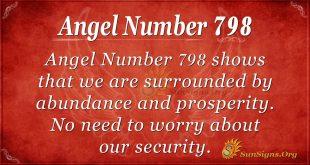 Angel Number 798