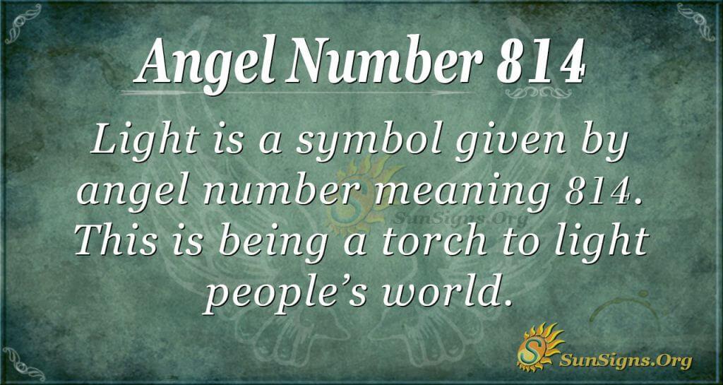 angel number 814