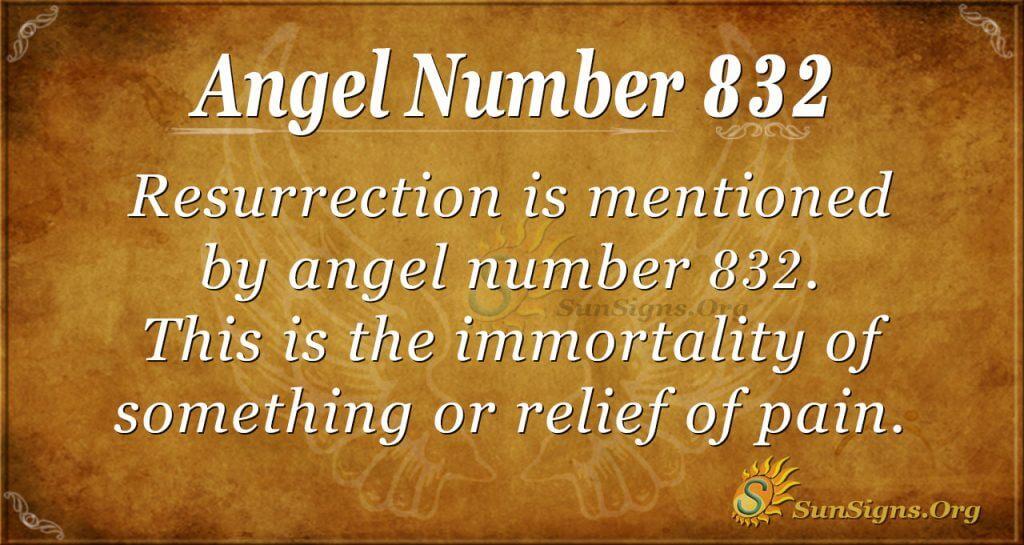 angel number 832