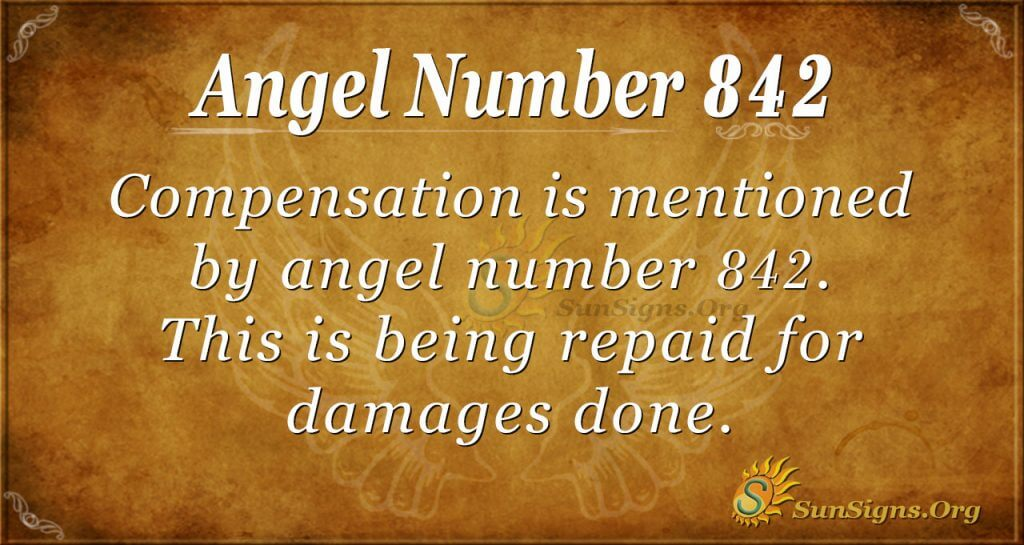 angel number 842