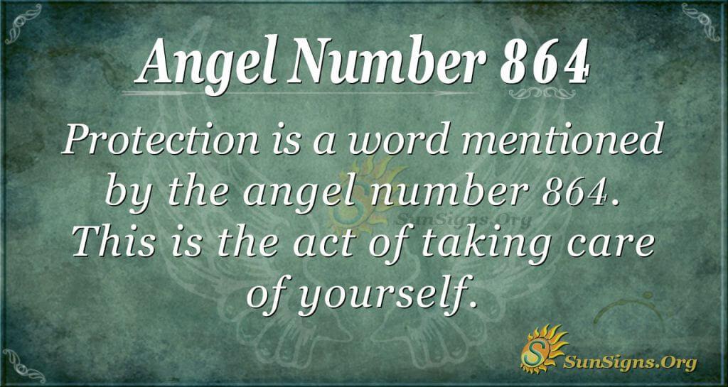 angel number 864