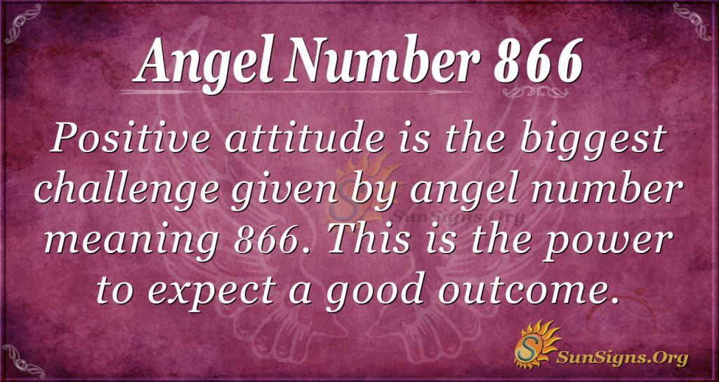 angel number 866