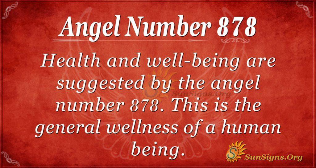 angel number 878