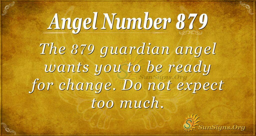 angel number 879