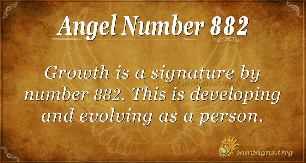 angel number 882