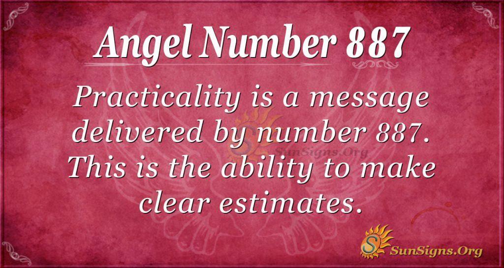angel number 887