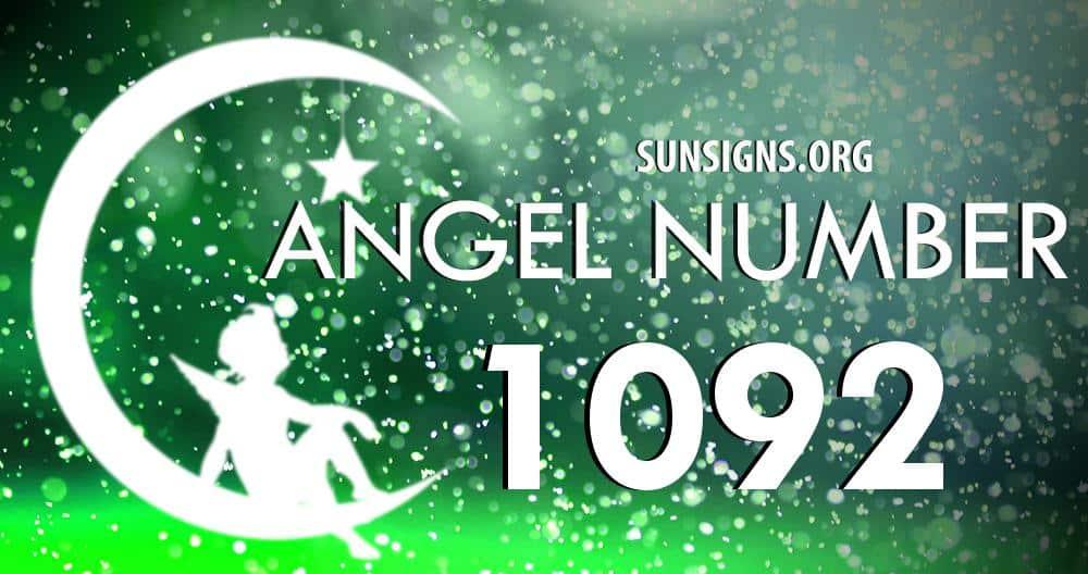 angel number 1092
