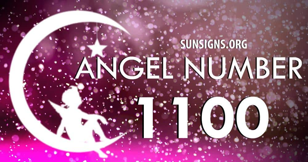 angel number 1100
